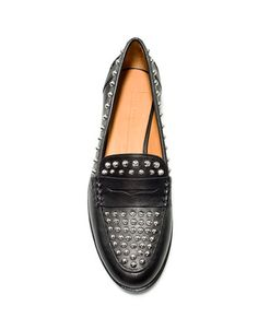 STUDDED MOCCASIN - Shoes - Woman - ZARA