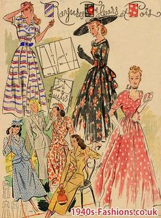Ladies Fashion, Some Summer Dresses from France