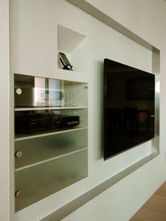 テレビの置き方・隠し方 - 建築家リフォーム | 家の時間 自分らしい住まいと暮らし見つけるウェブマガジン