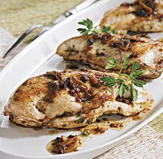 Lemon Chicken Breasts with Capers
