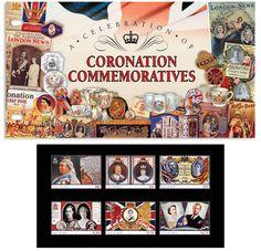 Coronation Commemoratives Presentation Pack #stamps #coronationstamps #isleofman #isleofmanstamps