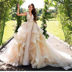 """3,257 Likes, 20 Comments - Gorgeous Wedding Dresses :) (@wedding_dresses) on Instagram: """"For great shopping, link in bio! #millanova #millanovagown #weddingdress #weddinggown #wedding…"""""""