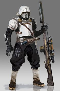 Scout Trooper redesign by Roberto L. Robert via Brainstorm https://www.facebook.com/groups/268049636714215/