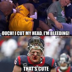 Hehehe funny basketball pictures, funny basketball memes, football jokes, f Nfl Jokes, Funny Nba Memes, Football Jokes, Nfl Football, American Football, Funny Quotes, Football Stuff, Nfl Broncos, Golf Quotes