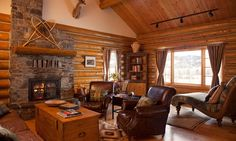 Small but nice - Living room withfireplace, full kitchen, dining room and sun porch