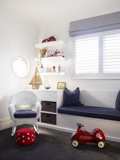 Love the cabintry for the boys rooms