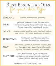 Skin Care Remedies Easy DIY Face Serum with Essential Oil -- Love that the recipe can… - Easy DIY Face Serum with Essential Oil -- recipe can be customized for your skin type {dry, acne, sensitive, oily, mature} Essential Oils For Face, Doterra Essential Oils, Young Living Essential Oils, Essential Oil Blends, Carrot Seed Essential Oil, Peppermint Essential Oil Uses, Best Oils, Face Oils Best, Best Oil For Skin