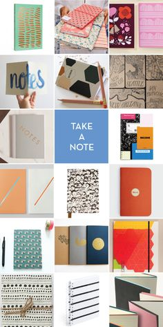 17 Notebooks for those of us who still look forward to back-to-school supplies!