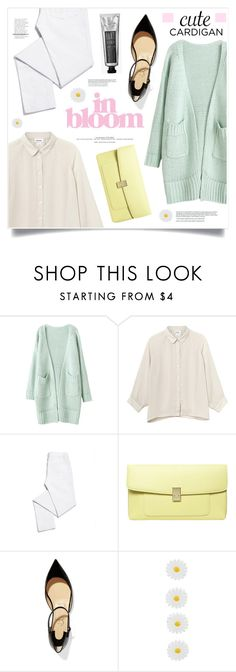 """""""In Bloom"""" by marina-volaric ❤ liked on Polyvore featuring Monki, Tory Burch, Dorothy Perkins, Christian Louboutin, Accessorize, Bloomingville, cutecardigan and springlayers"""