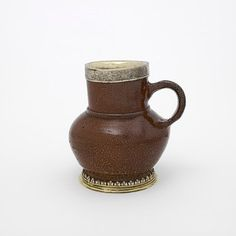 Pot, Place of origin: Germany (stoneware, made)  England, Great Britain (silver, made)  Date: ca. 1530-50 (made)