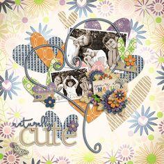 Naturally Cute  Template : From The Heart 03 by akizo Designs http://www.thedigichick.com/shop/Akizo-Designs/  Kit : Naturally Cute by Bella Gypsy Designs *FB Fan Freebie https://www.facebook.com/bellagypsydesigns/?fref=ts  Photo : AdinaVoicu