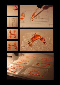 Handmade Typography by Sinead Kruis, via Behance