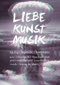 LIEBE//KUNST//MUSIK  KANTINE//KONSTANZ