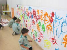 Arts a l'escola Grèvol: SO I COLOR , l'art romànic a Educació infantil