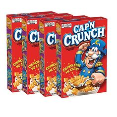 Amazon has the Cap'N Crunch Cereal, 14oz Boxes, 4 Count priced at $8.34. Clip the coupon and check out using Subscribe & Save to get this for only $6.25 with free shipping. Deliciously sweetened crunchy corn and oats breakfast cereal A source of 7 essential vitamins and minerals Convenient and easy to prepare Low in…