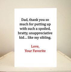 Father's Day Card, Birthday Card, Funny Father's Day Card, Funny Birthday Card, Handmade Greeting Cards - Love your favorite Birthday Cards For Mom, Bday Cards, Funny Birthday Cards, Handmade Birthday Cards, Card Birthday, Birthday Quotes, Birthday Wishes, Father Birthday, Birthday Gifts