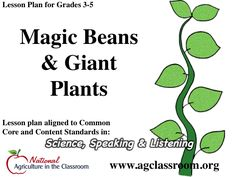 Lesson plan for 3-5 grade.  Students plant seeds and conduct experiments to compare parameters that influence growth.  Follow link for free lesson plan and recommended books to accompany lesson.