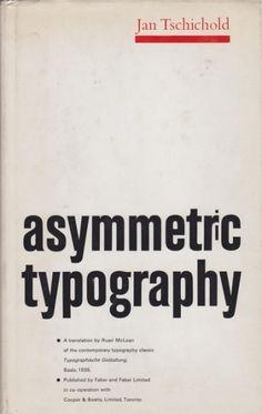 Asymmetric typography