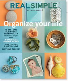 Real Simple Magazine!