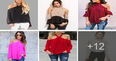 Aprende como confeccionar una blusa halter de mangas largas y hombros descubiertos Hola mis amores, One Shoulder, Blouse, Tops, Women, Fashion, Earrings Handmade, Beginner Sewing Projects, Learn To Sew, Sew Pattern