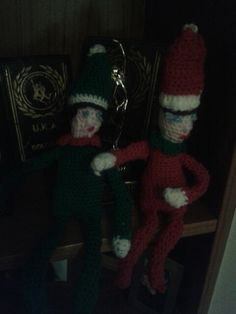 Naughty shalf elves