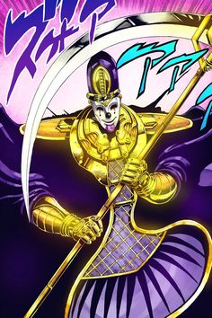 Death 13: LALI HO! Jojo's Bizarre Adventure: Stardust Crusaders.