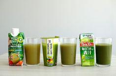 セブンで買った美容・健康系ドリンク3種類を飲み比べ!【 #コスメシ 】   体の中からキレイになれそうなドリンクを選んでみました♪ #グリーンスムージー #野菜ジュース #青汁