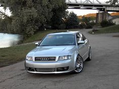 Audi A4 2002 with Rieger DTM front splitter, Thanks Greg!