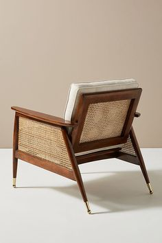 Create a comfortable and welcoming space to relax with great company. Shop unique living room furniture at Anthropologie for your well loved room. Rattan, Wicker Chairs, Home Design, Chaise Louis Xv, Hanging Furniture, Cane Furniture, Coaster Furniture, Bedroom Furniture, Flat Shapes