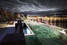 Gallery of Public Pools or Private Houses - How Should Stockholm Use its Cliffs? - 5