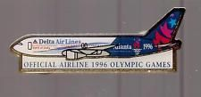 DELTA AIR LINES-ATLANTA-1996-OFFICIAL AIRLINE- OLYMPIC GAMES-TWO INCHES WIDTH Atlanta Olympics, Air Lines, Olympic Games