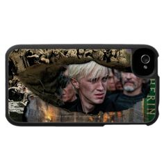 Draco Malfoy Collage iPhone case