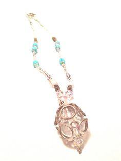 Artistic Jewelry - Glass Ball Necklace - OOAK on Etsy, $48.00