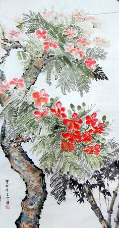Chinese painting by YIPSSS. Oh my love of the Asian culture ☺
