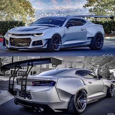 Wild looking body kit on this one