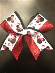Minnie Mouse Cheer Bow September 2017
