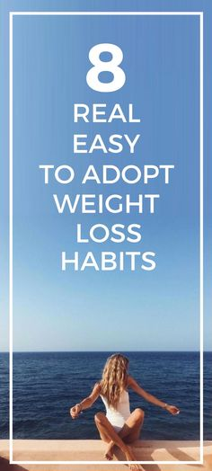 8 real easy to follow weight loss tips.