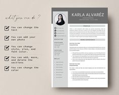 This Professional resume template is just what you need to freshen up that old resume! Creative and Sophisticated while still being professional. Cv Simple, Simple Resume, Modern Cv Template, Creative Cv, Resume Writing Tips, Cv Design, Cover Letter Template, Professional Resume, Deceit