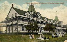 Hotel Windermere House, Windermere, Muskoka Lakes, Canada (1910)
