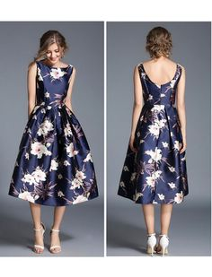 Simply Irresistible Floral Print Midi Dress - All About Trendy Dresses, Cute Dresses, Beautiful Dresses, Short Dresses, Fashion Dresses, Formal Dresses, Ball Dresses, Evening Dresses, Frock Patterns