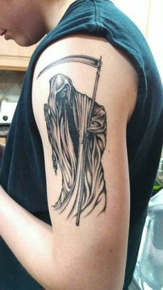 Imagenes De La Santa Muerte Tatuajes 27 Tatoos Etc Santa