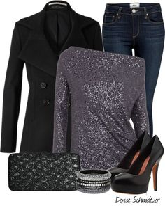 "LOVE the top!  ""Untitled #194"" by denise-schmeltzer on Polyvore"