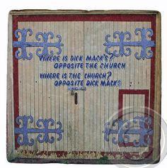 Dick Mack's Gate Dingle Co. Kerry. Irish / by Custom Coasters By Hazel