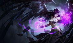 Morgana, Fallen Angel - Characters & Art - League of Legends