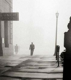 america  ◙  fred lyon untitle I948 american photographer from san francisco scène de rue street scene 40s
