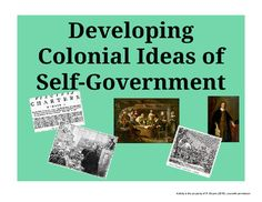These activities are designed to help students understand the events that influenced ideas of colonial self-government. Students examine items such as the Virginia Charter, the English Bill of Rights, and the policy of salutary neglect.There are critical thinking questions, a writing prompt, and even an activity geared toward artistically inclined students.