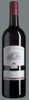 Dôle Soleil de Sierre  La Dôle n'est pas un vin de cépage, mais un vin constitué de Pinot Noir et de Gamay. Il est possible d'y adjoindre une part d'autres rouges cultivés en Valais: Syrah, Humagne, Cornalin. Le Valais élabore de la Dôle depuis plus d'un siècle.  http://www.imesch-vins.ch