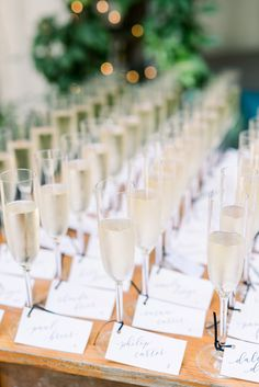 sip and be seated champagne glasses clifton inn charlottesville virginia southern dusty blue wedding photographer photo wedding seating Lilac Wedding, Wedding Bouquets, Wedding Flowers, Champagne And Blue Wedding, Seating Chart Wedding, Wedding Table, Wedding Reception, Wedding Places, Wedding Venues