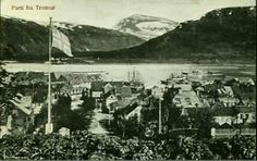 Parti fra Tromsø tidlig 1900-tall