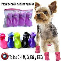 Y para los consen de la casa, que les parecen estas botitas? Tu mascota lucirá a la moda y te lo agradecerá. = )